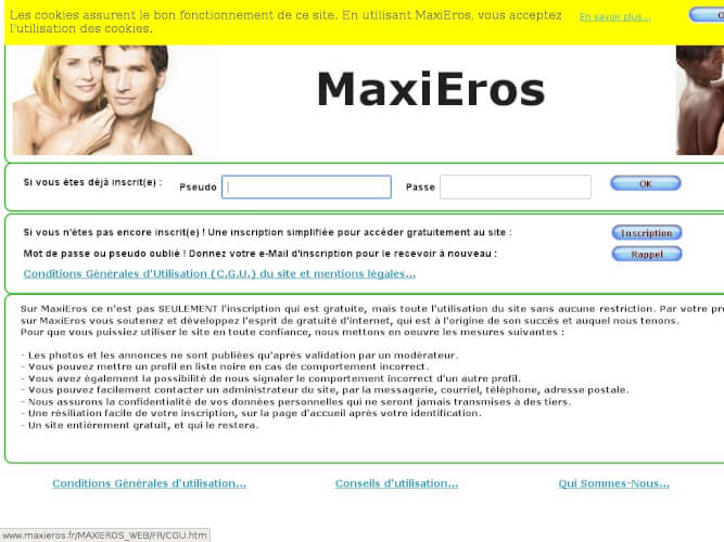 MaxisEros - Avis et Test