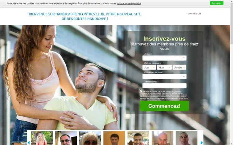 Site de rencontre handicap
