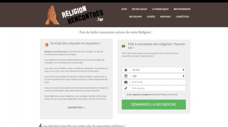 Religion-Rencontres avis 2018