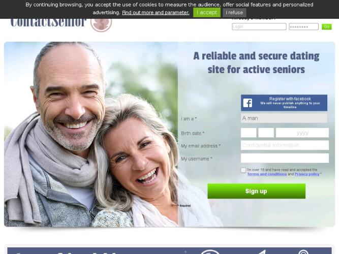 Later life dating sites